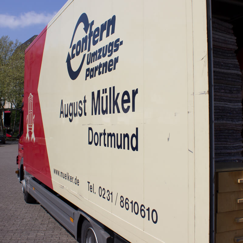 August Mülker LKW in Dortmund