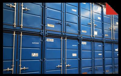 Containerlagerung in Dortmund