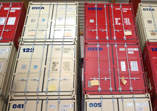 Einlagerung Container in Dortmund