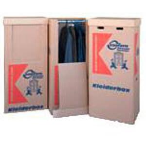 Kleiderbox für Kleidungsstücke
