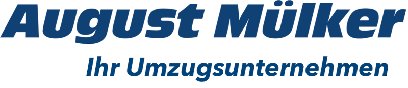 August Mülker Logo blau